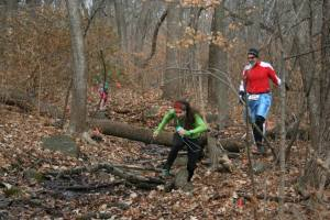 Rivers and downed trees were no strangers to this course.