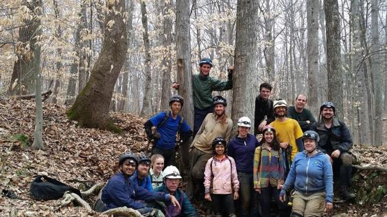 The caving group from the South Bend Adventure Club. Pretty awesome time!