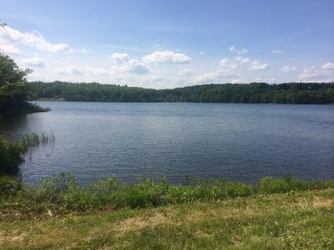 Another beautiful Massachusetts lake.